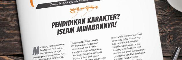 Buletin Teman Surga 013. Pendidikan Karakter? Islam Jawabannya!