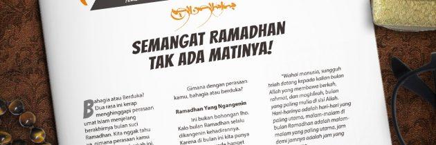 Buletin Teman Surga 017. Semangat Ramadhan Tak Ada Matinya!