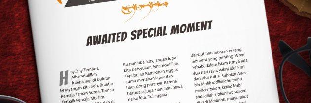 Buletin Teman Surga 018. Awaited Special Moment