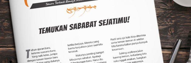 Buletin Teman Surga 021. Temukan Sababat Sejatimu!