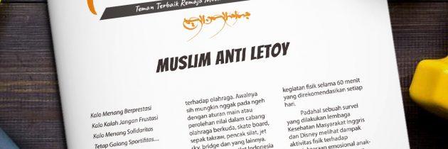 Buletin Teman Surga 027. Muslim Anti Letoy