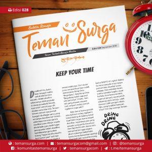Buletin Teman Surga-028. keep your time