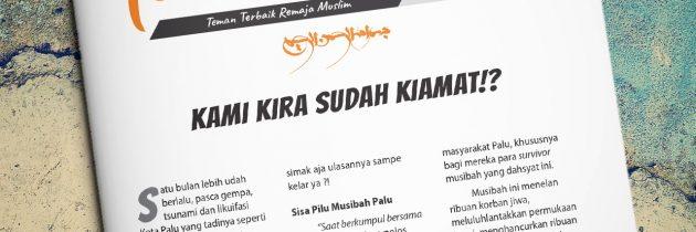 Buletin Teman Surga 036. 'Kami Kira Sudah Kiamat!?'