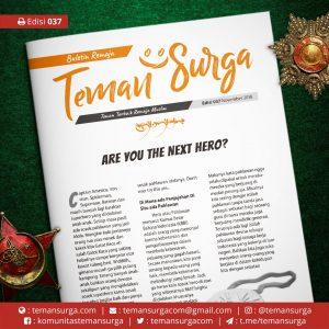 Buletin Teman Surga-037. next hero
