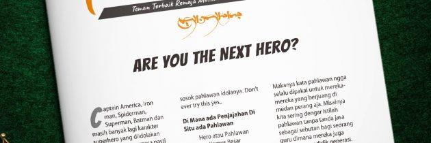 Buletin Teman Surga 037. Are You The Next Hero?