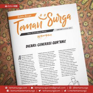 Buletin Teman Surga-038. generasi qurani