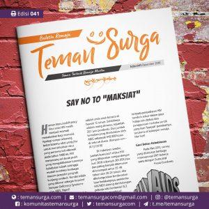 Buletin Teman Surga-041. say no to maksiat