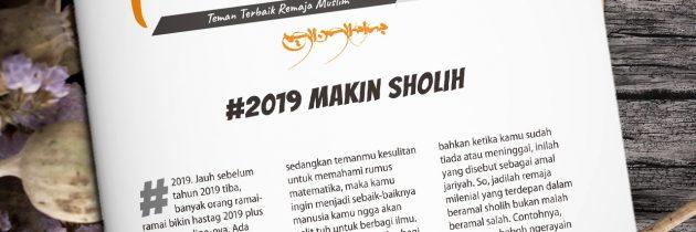 Buletin Teman Surga 044. #2019MakinSholih