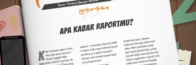 Buletin Teman Surga 045. Apa Kabar Raportmu?