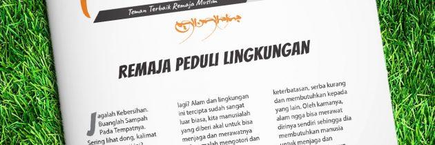 Buletin Teman Surga 046. Remaja Peduli Lingkungan