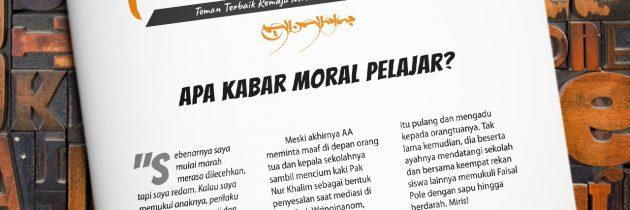Buletin Teman Surga 051. Apa Kabar Moral Pelajar?