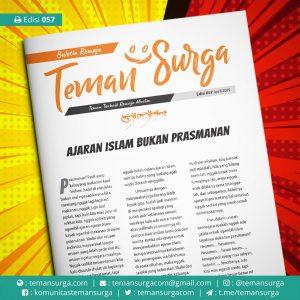 buletin teman surga 057. ajaran islam bukan prasmanan