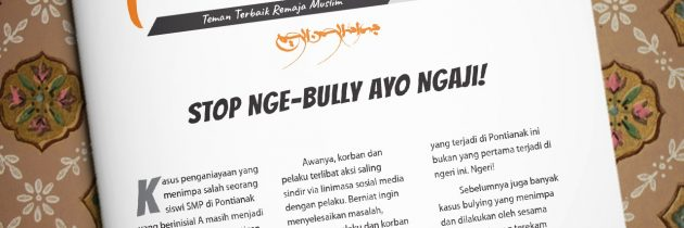 Buletin Teman Surga 059. Stop Nge-Bully Ayo Ngaji!