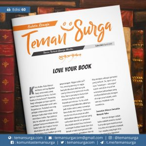 buletin teman surga 060. love your book