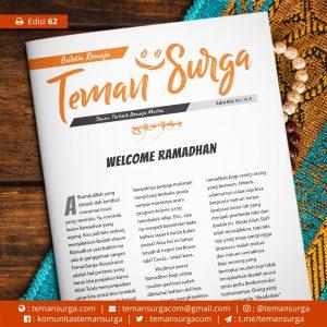 buletin teman surga 062. welcome ramadhan