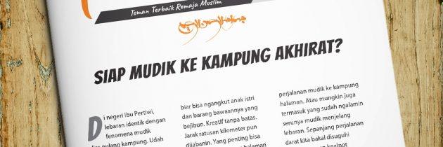 Buletin Teman Surga 066. Siap Mudik ke Kampung Akhirat?