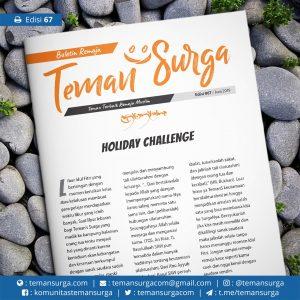 buletin teman surga 067. holiday challenge