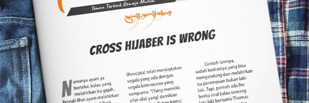 Buletin Teman Surga 085. Cross Hijaber is Wrong