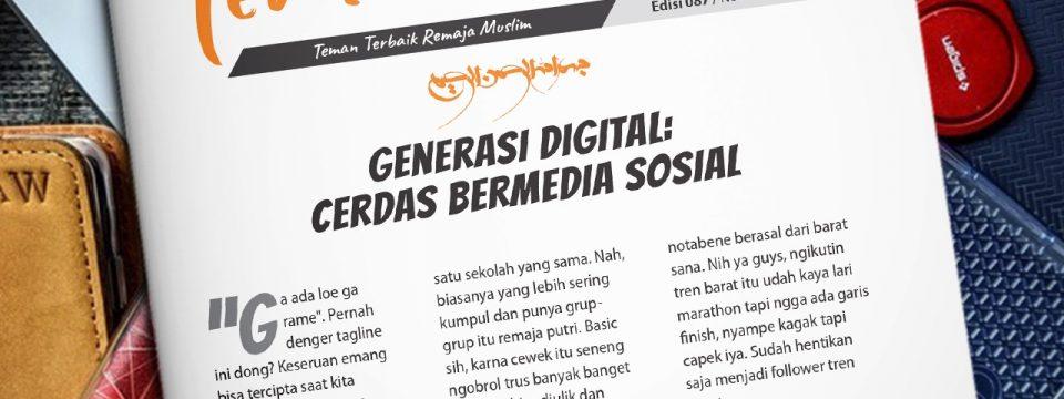 Buletin Teman Surga 087. Generasi Digital: Cerdas Bermedia Sosial