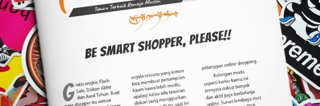 Buletin Teman Surga 092. Be Smart Shopper, Please!!