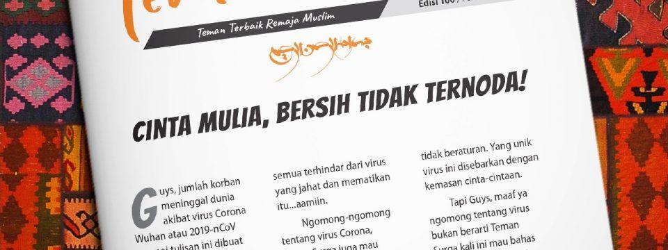 Buletin Teman Surga 100. Cinta Mulia, Bersih Tidak Ternoda!