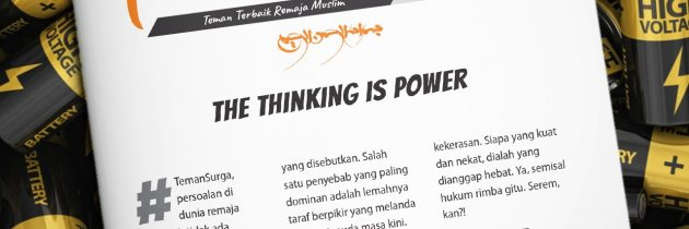 Buletin Teman Surga 102. The Thinking is Power