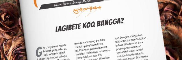 Buletin Teman Surga 103. LaGiBeTe Koq Bangga?