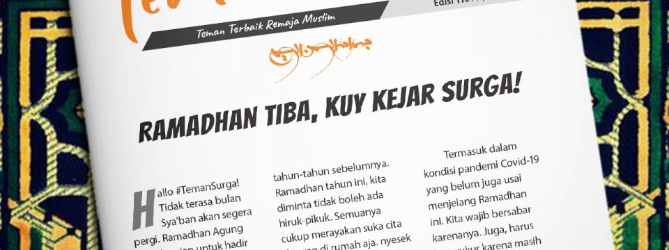 Buletin Teman Surga 110. Ramadhan Tiba, Kuy Kejar Surga!