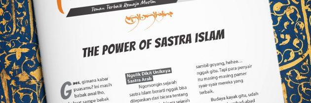 Buletin Teman Surga 111.The Power of Sastra Islam