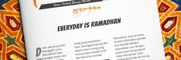 Buletin Teman Surga 115. Everyday is Ramadhan