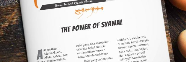 Buletin Teman Surga 116. The Power of Syawal