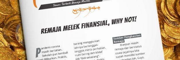 Buletin Teman Surga 122. Remaja Melek Finansial, Why Not!