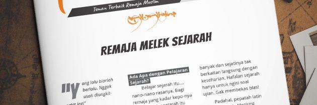 Buletin Teman Surga 129. Remaja Melek Sejarah