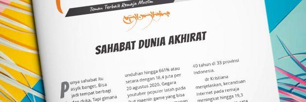 Buletin Teman Surga 133. Sahabat Dunia Akhirat