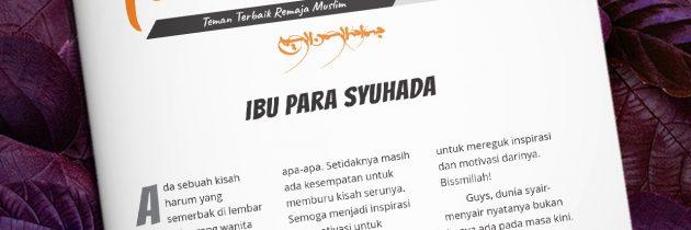 Buletin Teman Surga 144. Ibu Para Syuhada